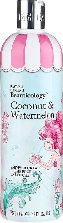 Crema de ducha con coco y sandía - Baylis & Harding Beauticology Mermaid Shower Cream
