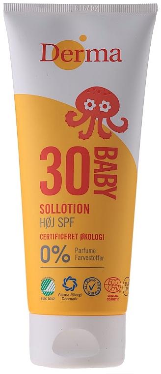 Crema de protección solar para bebés - Derma Sun Baby Sollotion SPF30