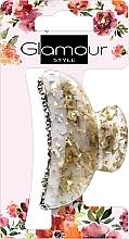 Perfumería y cosmética Pinza de pelo, dorada con piedras - Glamour, 417624