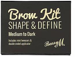 Perfumería y cosmética Paleta de maquillaje de cejas - Barry M Brow Kit