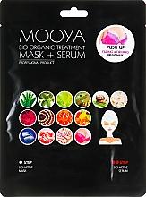 Perfumería y cosmética Mascarilla sérum para busto con ácido hialurónico - Beauty Face Mooya Bio Organic Treatment Mask + Serum
