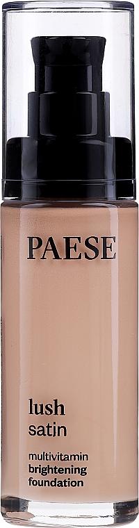 Base de maquillaje multivitamínica con extracto de frutas & D-pantenol - Paese Lush Satin