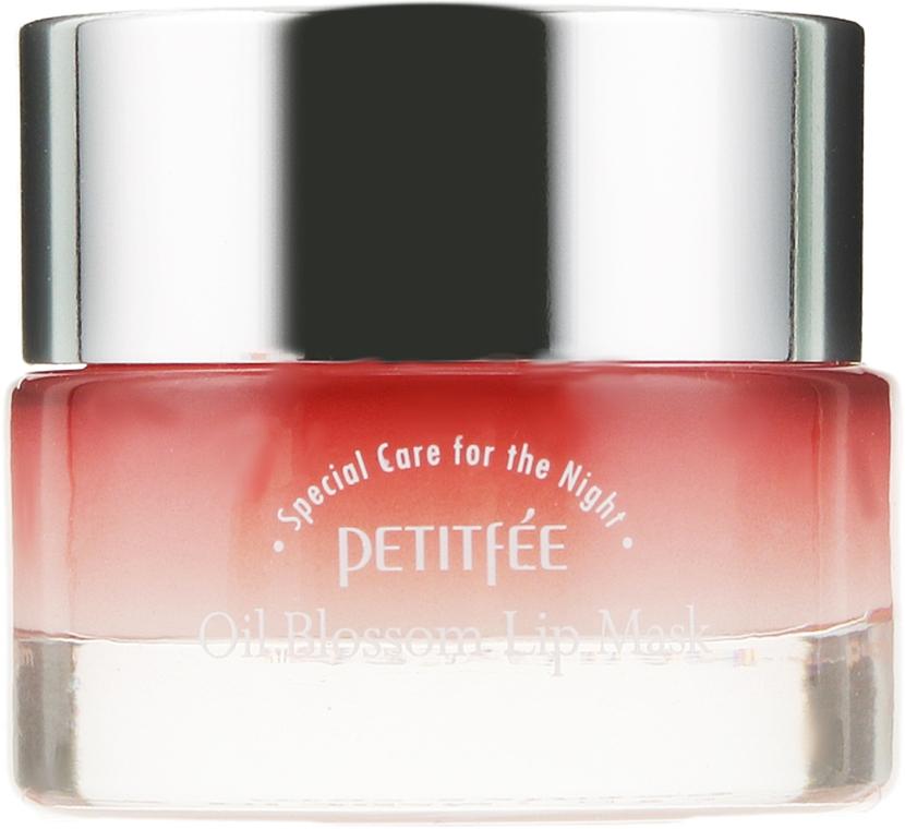 Mascarilla labial de noche con aceite de camelia y vitamina E - Petitfee&Koelf Oil Blossom Lip Mask