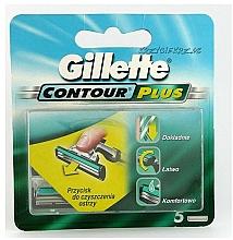 Perfumería y cosmética Recambios de cuchillas, 5uds. - Gillette Contour Plus