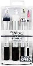Perfumería y cosmética Set brochas de maquillaje - Real Techniques by Sam and Nic Prep + Prime Set