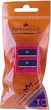 Perfumería y cosmética Sacapuntas doble, 2199, rosa - Top Choice