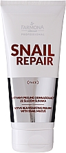 Exfoliante activo rejuvenecedor con baba de caracol - Farmona Professional Snail Repair Active Rejuvenating Peeling With Snail Mucus — imagen N1