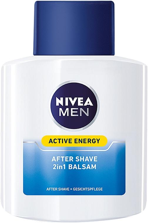 Bálsamo aftershave revitalizante 2en1 - Nivea For Men Active Energy Skin Revitalizer After Shave Balm — imagen N2