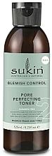 Perfumería y cosmética Tóner facial con aceite de eucalipto - Sukin Blemish Control Pore Perfecting Toner