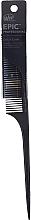 Perfumería y cosmética Peine de púa, negro - Wet Brush Pro Epic Carbonite Tail Comb