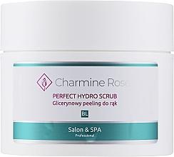 Perfumería y cosmética Peeling de manos con glicerina - Charmine Rose Perfect Hydro Scrub