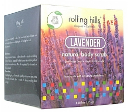 Perfumería y cosmética Exfoliante corporal natural, lavanda - Rolling Hills Gommage Corps Naturel