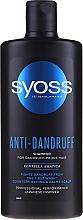 Perfumería y cosmética Champú natural anticaspa con centella asiática - Syoss Anti-Dandruff Centella Asiatica Shampoo