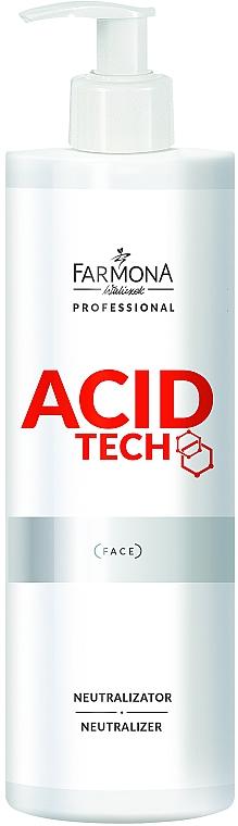 Neutralizador facial con ácido hialurónico, D-pantenol y aloe - Farmona Professional Acid Tech Face Neutralizer
