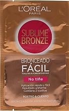 Perfumería y cosmética Toallitas autobronceadoras para rostro y cuerpo - L'oreal Sublime Self-Tan Face And Body Wipes