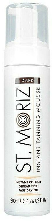 Mousse autobronceadora con vitamina E - St. Moriz Instant Tanning Mousse Dark