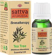 Perfumería y cosmética Aceite esencial de árbol de té 100% natural - Sattva Ayurveda Tea Tree Essential Oil