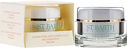Perfumería y cosmética Crema mascarilla facial con arcilla verde y extracto de piña - Ligne St Barth Cream Mask With Green Clay And Pineapple