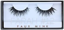 Perfumería y cosmética Pestañas postizas - Huda Beauty Faux Mink Lash 12