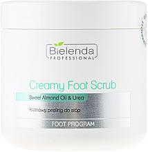 Perfumería y cosmética Exfoliante para pies cremoso con aceite de almendras dulces y urea - Bielenda Professional Foot Paradise Creamy Foot Scrub With Almond Oil And Urea
