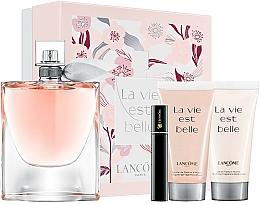 Perfumería y cosmética Lancome La Vie Est Belle - Set (eau de parfum/100ml + loción corporal perfumada/50ml + gel de ducha perfumado/50ml + máscara de pestañas/2ml)