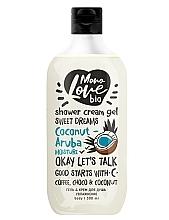 Perfumería y cosmética Gel-crema de ducha con aceite de coco - MonoLove Bio Coconut-Aruba Moisture