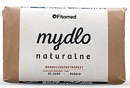 Perfumería y cosmética Jabón natural con coco y linaza - Fitomed Soap