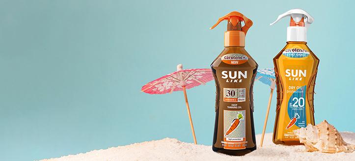 Descuento en artículos promocionales Sun Like. Los precios indicados tienen el descuento aplicado