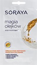Perfumería y cosmética Mascarilla facial con aceites de argán, jojoba, macadamia & chia - Soraya Magic Of Oils Intensively Nourishing Oil Mask
