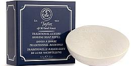 Perfumería y cosmética Jabón de afeitar tradicional (recambio) - Taylor Of Old Bond Street Traditional Luxury Shaving Soap Refill