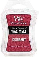 Perfumería y cosmética Cera para lámparas aromáticas, grosella - WoodWick Wax Melt Currant