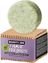 Perfumería y cosmética Champú sólido para cabello y cuero cabelludo sensible con aceite de lavanda - Beauty Jar I Have Feelings