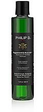 Perfumería y cosmética Champú voluminizador con aceites de menta y aguacate - Philip B Peppermint and Avocado Volumizing and Claryfying Shampoo