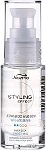 Perfumería y cosmética Seda para cabello, propiedades reconstituyentes - Joanna Styling Effect Hair Silk