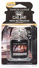 Perfumería y cosmética Ambientador de coche, coco negro - Yankee Candle Car Jar Ultimate Black Coconut
