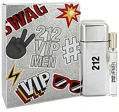 Perfumería y cosmética Carolina Herrera 212 VIP Gift Set 2 - Set Eau de Toilette (edt/100ml + edt/mini/10ml)