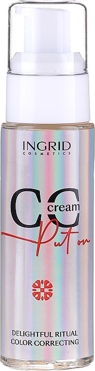 CC crema correctora - Ingrid Cosmetics CC Cream Put On Delightful Ritual Color Correcting
