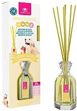 Perfumería y cosmética Ambientador Mikado con aroma a flores blancas sin alcohol - Cristalinas Reed Diffuser