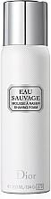 Perfumería y cosmética Dior Eau Sauvage - Espuma de afeitar con extracto de limón
