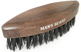 Perfumería y cosmética Cepillo para barba de madera sin mango, formato viaje - Man'S Beard Travel Beard Brush Without Wooden Handle