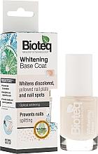 Perfumería y cosmética Base coat blanqueadora con cera microcistalina - Bioteq Whitening Base Coat