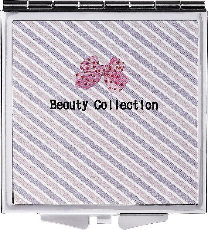 Espejo compacto de bolsillo 6cm, rayas, 85604 - Top Choice Beauty Collection Mirror