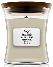 Perfumería y cosmética Vela aromática, jazmín ahumado - WoodWick Hourglass Candle Smoked Jasmine