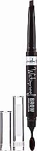 Perfumería y cosmética Lápiz para cejas resistente al agua con cepillo - Lovely Waterproof Brow Pencil
