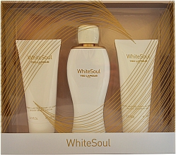 Perfumería y cosmética Ted Lapidus White Soul - Set (eau de parfum/100ml + crema corporal/100ml + gel de ducha/100ml)