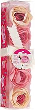 Perfumería y cosmética Confeti de baño con aroma a rosa, 5uds. - Spa Moments Bath Confetti Rose