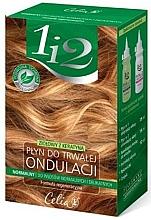 Perfumería y cosmética Kit permanente rizada con hierbas medicinales y queratina - Celia Permanent Liquid Herbal With Keratin