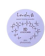 Perfumería y cosmética Polvo suelto de maquillaje mineral transparente con aceite de jojoba - Lovely HD Loose Powder
