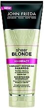 Perfumería y cosmética Champú para cabello rubio con aceite de salvado de arroz - John Frieda Sheer Blonde Flawless Recovery Shampoo