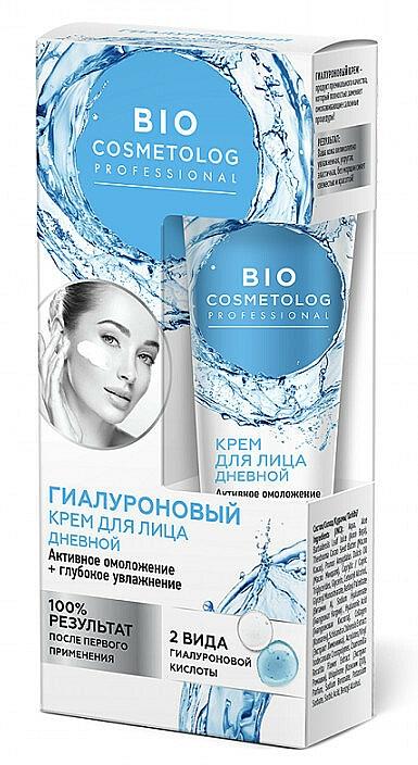 Crema facial hidratante con ácido hialurónico - Fito Cosmetic BioCosmetolog Prof